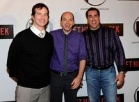 Rob Huebel, Paul Scheer and Rob Riggle at a screening of