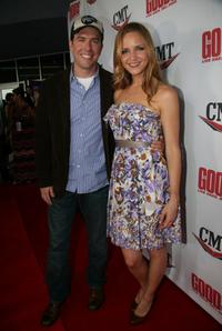 Ed Helms and Jordana Spiro at the Nashville premiere of