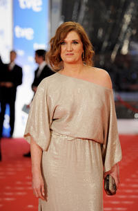 Ana Wagener at the red carpet of Goya Awards 2011 in Madrid.