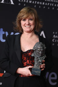 Ana Wagener at the Goya Cinema Awards 2012 in Madrid.