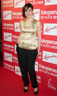 Malena Alterio at the Fotogramas Awards 2011 in Spain.
