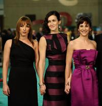 Esperanza Pedreno, Angeles Gonzalez Sinde and Malena Alterio at the Goya Cinema Awards 2009.