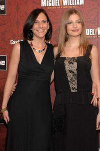 Malena Alterio and Miriram Giovanelli at the premiere of