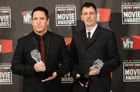 Trent Reznor and Atticus Ross at the 16th Annual Critics Choice Movie Awards.