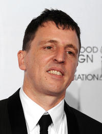 Atticus Ross at the 68th Annual Golden Globe Awards.