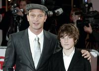 Thomas Kretschmann and Barney Clark at the European Film Awards 2006.