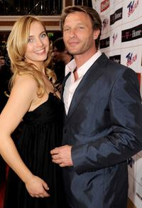 Nadja Uhl and Thomas Kretschmann at the Diva Entertainment Awards.