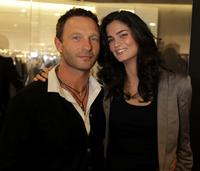 Thomas Kretschmann and Shermine Sharivar at the JOOP Store Opening.