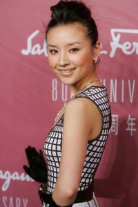 Dong Jie at the Salvatore Ferragamo 80th Anniversary Party.