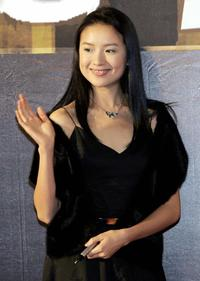 Dong Jie at the preview of