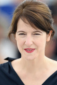 Ursula Meier at the Camera d'Or jury photocall during the 71st Cannes Film Festival.