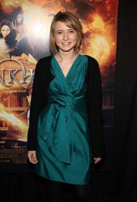 Eliza Bennett at the New York premiere of
