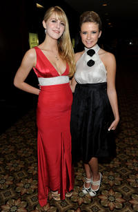 Yvonne Zima and Eliza Bennett at the BAFTA Los Angeles 2010 Britannia Awards.