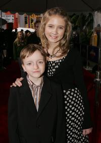 Sam Honywood and Eliza Bennett at the premiere of