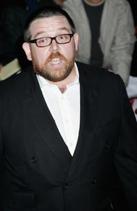Nick Frost at the National Movie Awards.