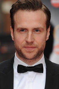 Rafe Spall at The Laurence Olivier Awards in London.