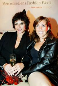 Magali Amadei and Francesca Pimi at the Smashbox Studios Kick Off Party for Mercedes Benz Fashion Week.