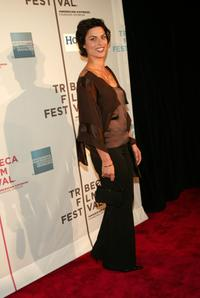 Magali Amadei at the screening of