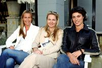 India Hicks, Cornelia Guest and Magali Amadei at the book signing party of