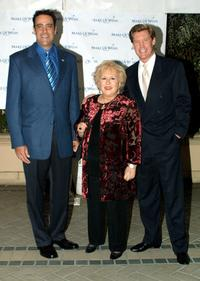 Brad Garrett, Doris Roberts and Kent Shocknek at the Make A Wish Foundation of Greater Los Angeles Second Annual Awards and Dinner Gala.