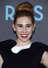 Zosia Mamet at the New York premiere of