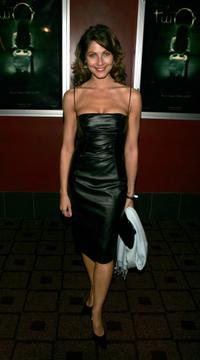 Marisa Petroro at the premiere of