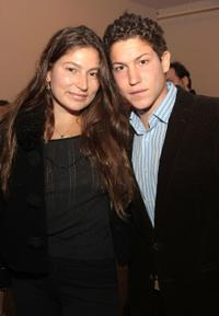 Stella Schnabel and Vito Schnabel at the Ron Gorchov Art Exhibit Opening in New York City.