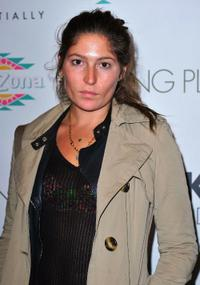Stella Schnabel at the New York premiere of