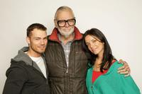 Shawn Roberts, Director George A. Romero and Michelle Morgan Diary at the 2008 Sundance Film Festival.
