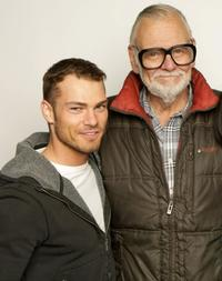 Shawn Roberts and Director George A. Romero at the 2008 Sundance Film Festival.