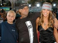 Jay Adams and Guests at the premiere of