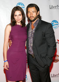 Inna Korobkina and Steve Basic at the after party of the Canada premiere of