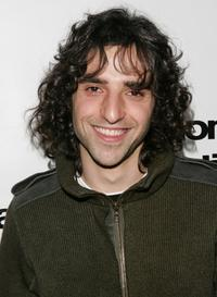 David Krumholtz at the ICM talent agency party.