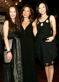 Youki Kudoh, Michelle Yeoh and Ziyi Zhang at the premiere of