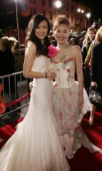 Ziyi Zhang and Youki Kudoh at the Los Angeles premiere of