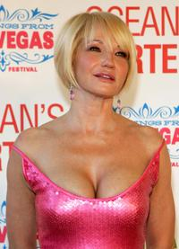 Ellen Barkin at the opening night screening of