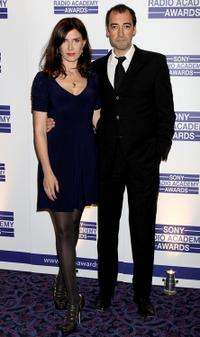 Ronni Ancona and Alistair McGowan at the Sony Radio Academy Awards.