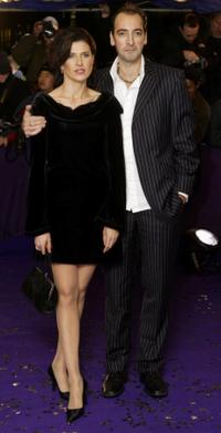 Ronni Ancona and Alistair McGowan at the British Comedy Awards 2003.