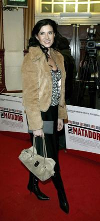 Ronni Ancona at the UK premiere of
