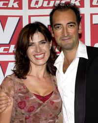 Ronni Ancona and Alistair McGowan at the TV Quick Awards.