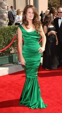 Elizabeth Reaser at the 2007 Creative Arts Emmy Awards.