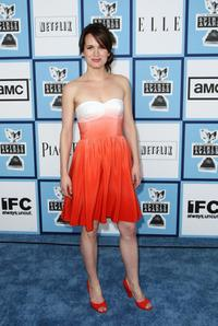 Elizabeth Reaser at the 2008 Film Independents Spirit Awards.