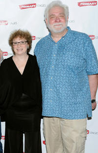 Marcia Jean Kurtz and Richard Masur at the after party of the opening night of