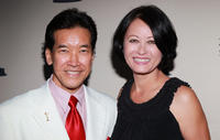 Peter Kwong and Julia Nickson at the Academy of Television Arts & Sciences' Performers Peer Group Nominee Reception in California.