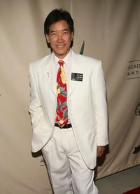 Peter Kwong at the Writers' Peer Group Emmy nominee reception.