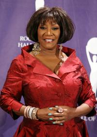 Patti LaBelle at the 2008 Rock and Roll Hall of Fame Induction ceremony.