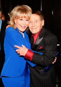 Barbara Eden and Jack La Lanne at the 35th Annual Vision Awards.