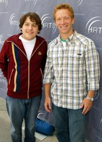 Sean Marquette and J.D. Roth at the Hollywood Radio and Television Society 10th Annual Kids Day.