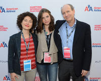 Jenny Deller, Perla Haney-Jardine and Doron Weber at the New York premiere of