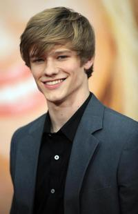 Lucas Till at the world premiere of